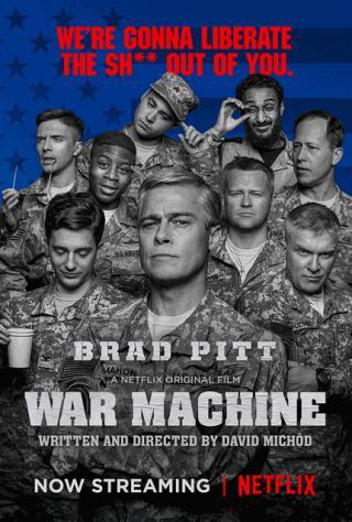 فيلم War Machine 2017 مترجم
